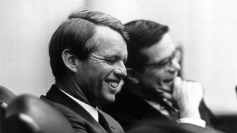 Robert Kennedy estaba en plena campaña presidencial cuando fue asesinado...