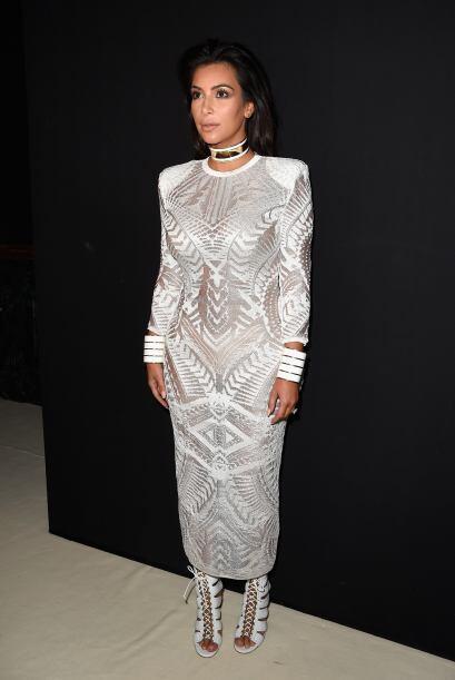 28. Muy elegante durante la Semana de la Moda de París 2014.