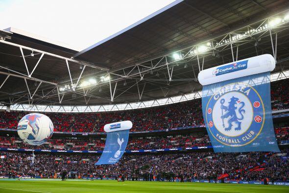 El nuevo estadio de Wembley fue el escenario del gran partido, el estadi...