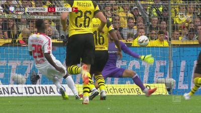 ¡El Leipzig dejó escapar una inmejorable oportunidad a bocajarro!