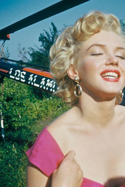 Son otras imágenes raramente vistas de Marilyn.