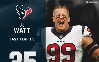 #35: J.J. Watt (DE, Texans) | Top 100 Jugadores 2017