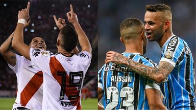 River y Gremio se medirán en la primera semifinal de la Copa Libertadores