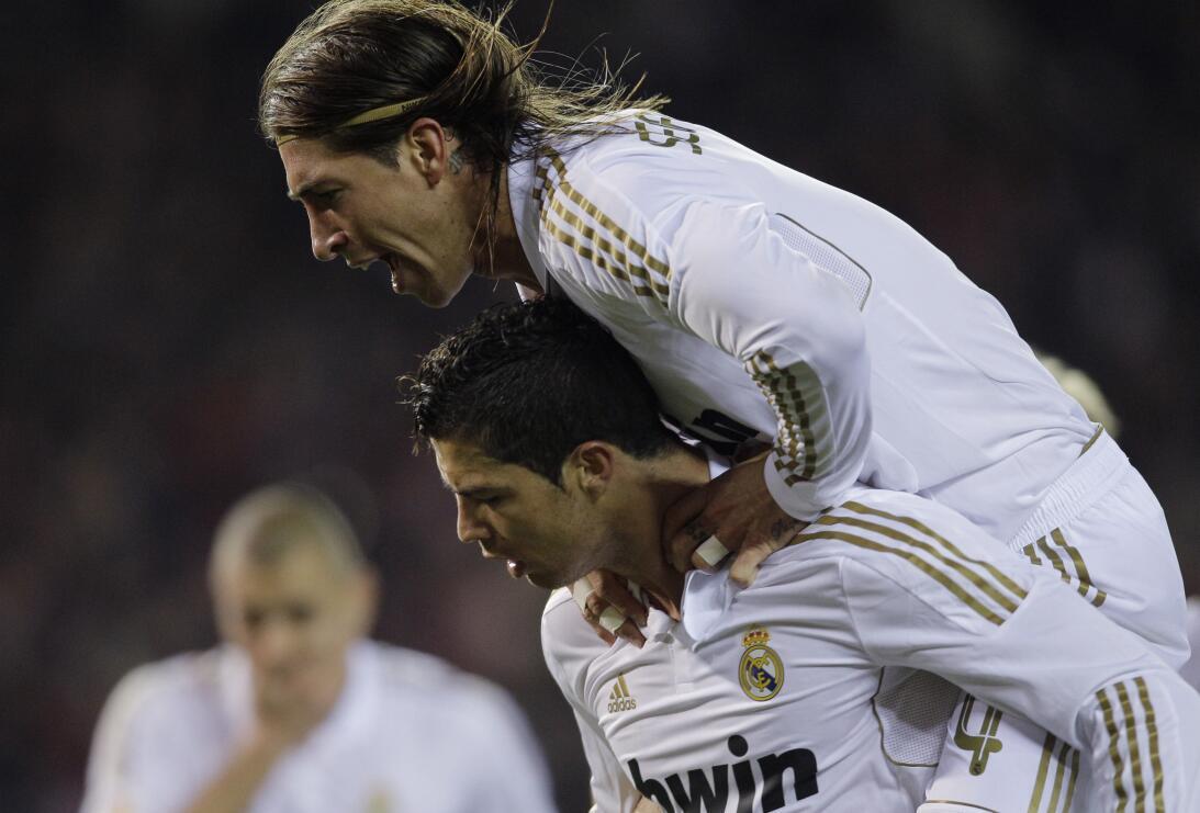 11/04/2012 - La Liga - ATM 1-4 RM - Triplete de CR7 y una asistencia