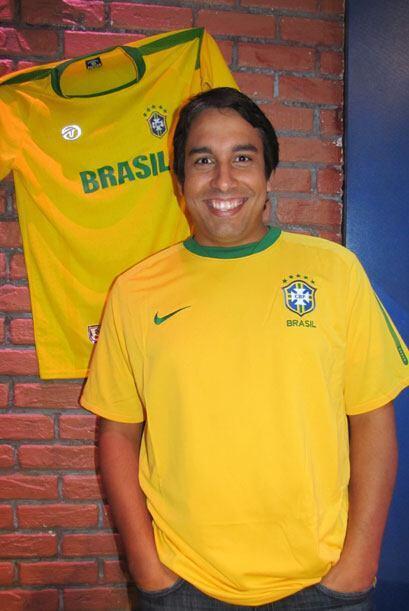El brasileño Marcos Da Silva tiene 44 años.