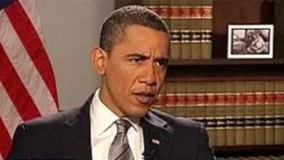 Entrevista exclusiva con Barack Obama en el programa Aqui y Ahora, de Un...