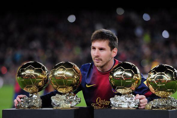 Con 82 goles repartidos entre la Liga Española, la Champions League, Cop...
