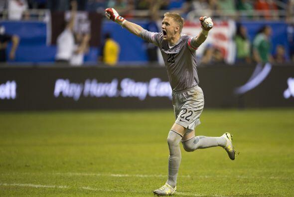 William Yarbrough no fue exigido pero su festejo del gol demuestra que s...