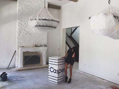 Kylie compartió una foto de su nueva y lujosa residencia, de un v...