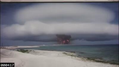 En video: Hacen públicas grabaciones de pruebas nucleares estadounidense...