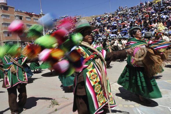 En ese rito ancestral se le rinde tributo a  la 'Pachamama', que es la m...