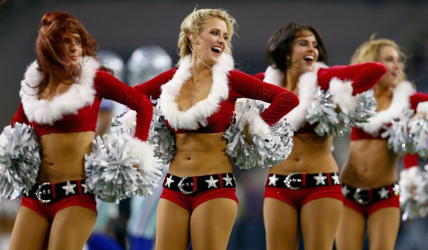 Qué mejor presente para todos los fans de la NFL que las cheerleaders má...