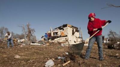 Imágenes desoladoras se dejan ver en la zona centro de Estados Unidos tr...