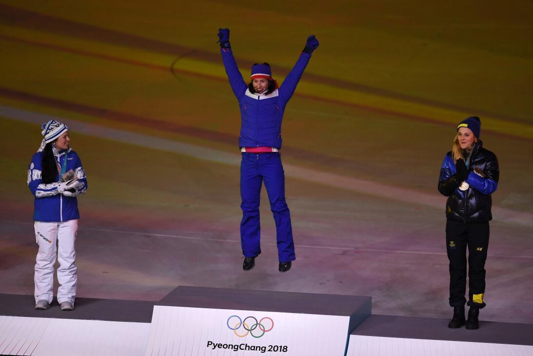 Marit Björgen, la leyenda viva de los Olímpicos de Invierno que hizo tri...