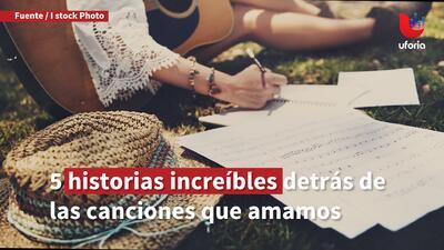 5 historias increíbles detrás de las canciones que amamos