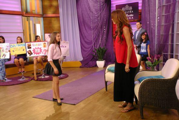Daphne Martínez sorprendió a todos con su gran talento.