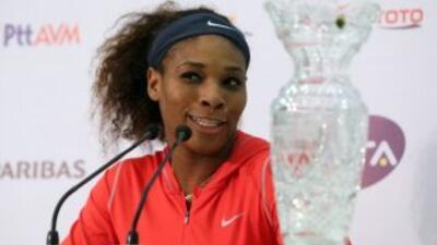 """""""No pretendo parar tan temprano. Amo jugar al tenis"""", comentó la tenista."""