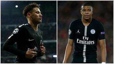 Por culpa del 'fair play' financiero, el PSG tendría que vender a Neymar o Mbappé