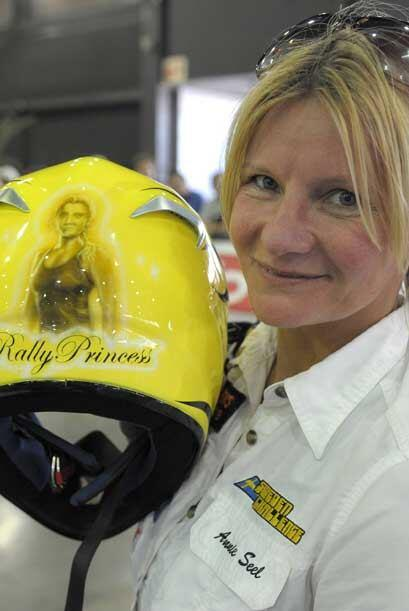 Sin embargo, la 'Princesa del Rally, la sueca Annie Seel está dispuesta...