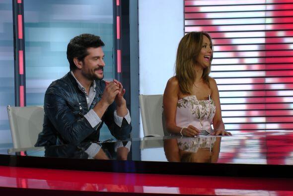 El actor fue invitado especial en Sal y Pimienta, y debatió sobre el par...