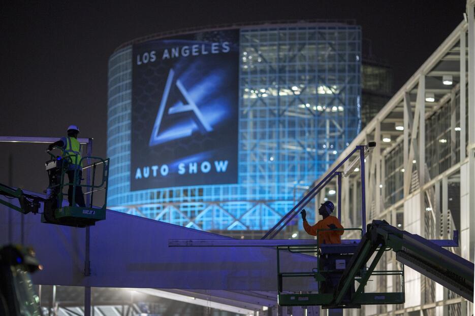El mundo del motor se mudó al Auto Show de Los Angeles GettyImages-62407...