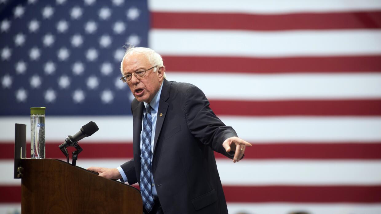 Bernie Sanders plantea despenalizar el consumo de marihuana