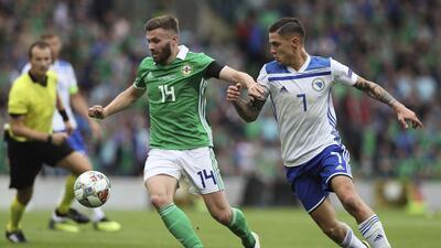 En fotos: Bosnia arrancó la UEFA Nations League con un triunfo ante Irlanda del Norte