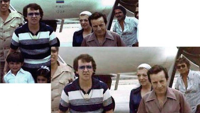 ¿Chespirito con Pablo Escobar? Estas fueron las imágenes que corrieron c...