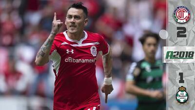 Toluca 2-1 Santos Laguna - RESUMEN Y GOLES – Apertura 2018 Liga MX