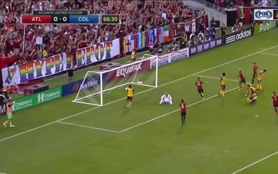El venezolano Josef Martínez anota una joya y adelanta al Atlanta United