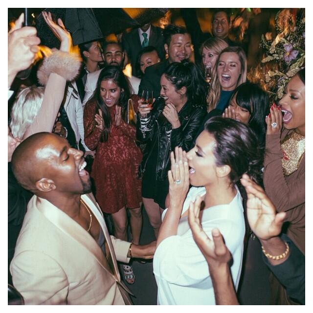 Kim y Kanye aniversario