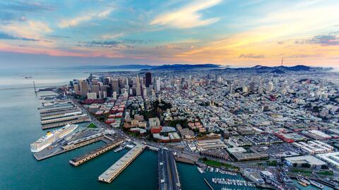 Claramente San Francisco y el Área de la Bahía concentran...