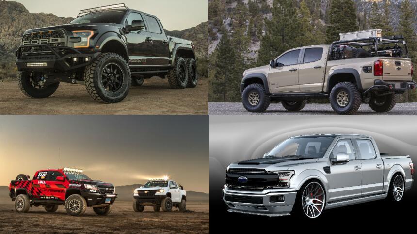 Las pickups del SEMA 2017