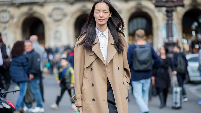 La modelo Fei Fei Sun en París