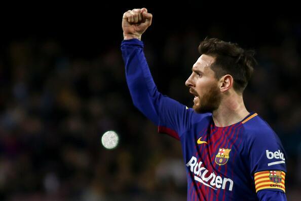 En fotos: Barcelona de récord con triplete de Messi 943127472.jpg