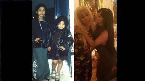 Hennessy Carolina posts a throwback photo to her Instagram account. The...