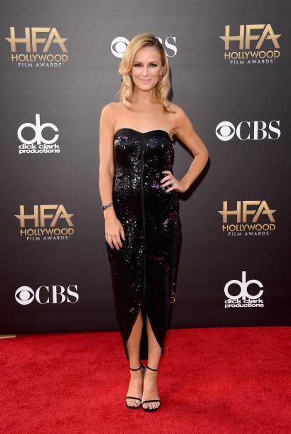 Brooke Anderson fue una de las peores vestidas, gracias a que su vestido...