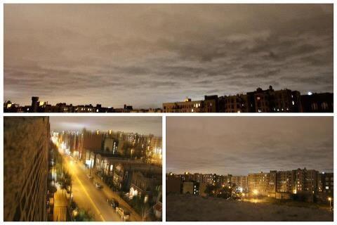 Steph C. Guzman envió fotos de la noche del domingo en Nueva York