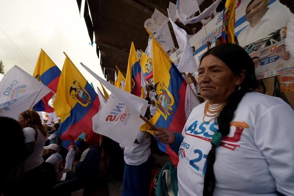 Líder del movimiento Creando Oportunidades (CREO), Lasso fue presidente...
