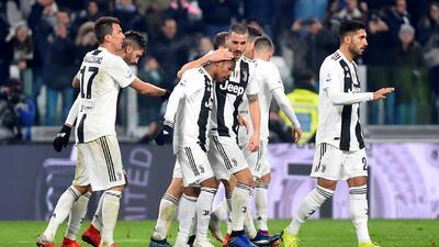 En fotos: Juventus vence a la Roma y sigue en solitario como líder absoluto de la Serie A