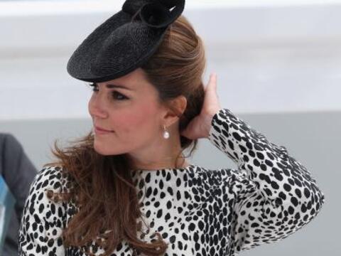Kate Middleton en su última aparición pública