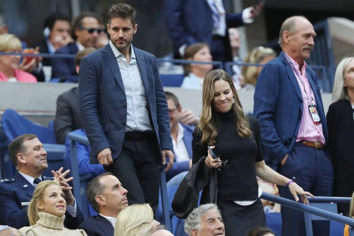 Rafael Nadal: Campeón del US Open Hilary Swank watches.jpg