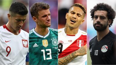 Selecciones que decepcionaron en el Mundial de Rusia 2018