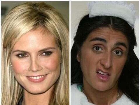 """Heidi Klum vs Excelsa de """"La familia P. Luche"""". Mira aqu&iacut..."""
