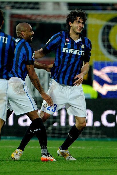 Consiguió el tanto de la victoria del Inter para meterlo en sitios europ...