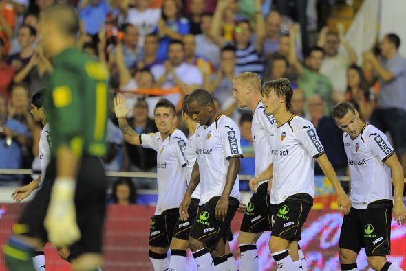Pablo Hernández fue el verdugo de la visita y su equipo ganaba 2-1.