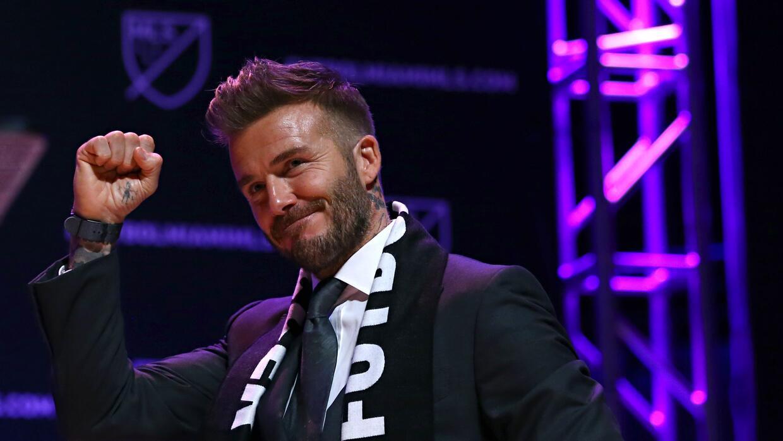 David Beckham y sus socios analizan la posibilidad de levantar un estadi...