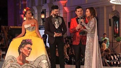 Jomari Goyso recibió un merecido galardón.