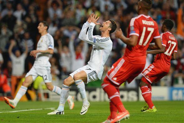 Cristiano Ronaldo y Ángel Di María perdonaron un par de oportunidades qu...