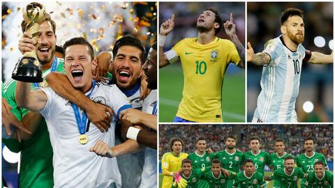 El equipo alemán se montó en el primer lugar otra vez tras...